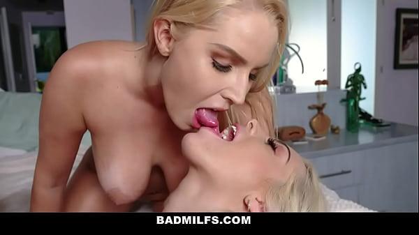 Stepdaughter Allie Nicole Caught Stepmom Vanessa Cage Sucking Boyfriend's Cock
