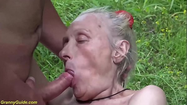 ugly 86 years old mom b. public banged