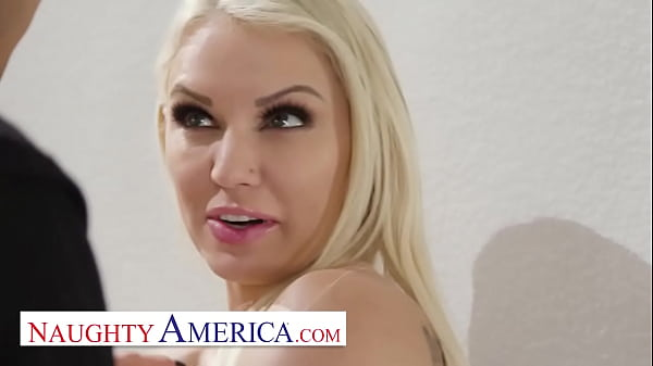 Naughty America - Kenzie Taylor knows how to stop a burglar, Fuck Him!!! Thumb