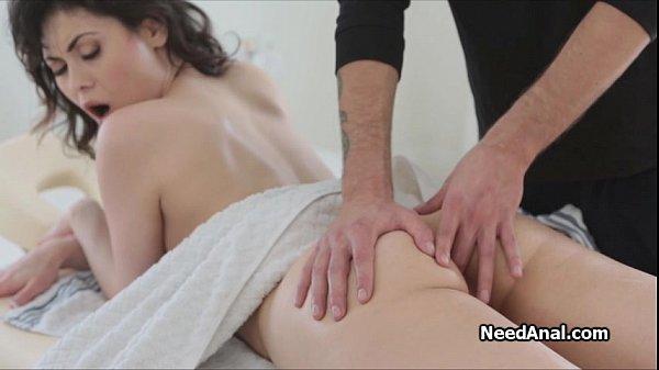 Sexy butthole fingering massage