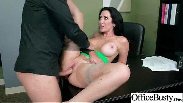Busty Horny Girl (jayden jaymes) Get Hard Style Sex In Office vid-16