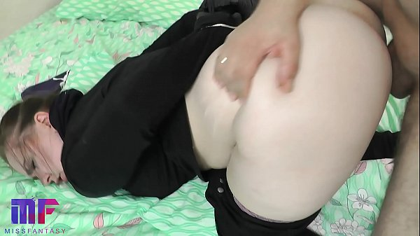 The return of the thief. Fucked in the mouth and doggy style. Part 2.