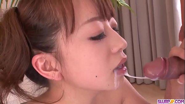 Wonderful oral sex in POV by amazing Hazuki Okita - More at Slurpjp.com