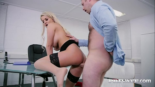 Private.com - Busty Sienna Day Gets Face Fucked & Ass Banged By Boss!