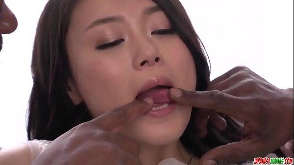 Amateur Kyoko Nakajima receives BBC to drill her holes - More at javhd.net