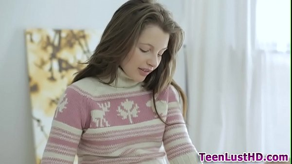 Cute teen anal creampie