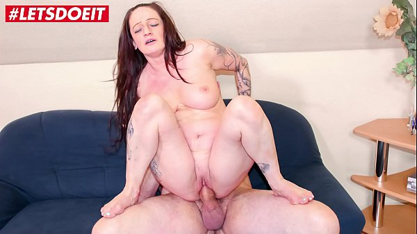 LETSDOEIT - German Aunt Rides Nephew's Big Cock At Home