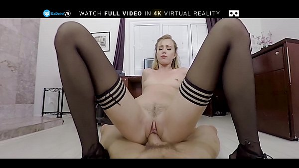 BaDoinkVR POV Office Fuck With Hot Blonde Haley Reed Thumb
