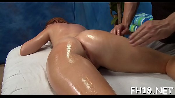 Tiny drilled hard by her massage therapist
