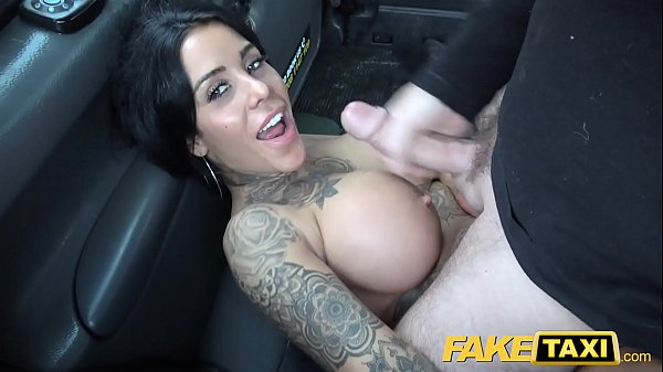 Fake Taxi Tattoos big juicy tits and long sexy ...