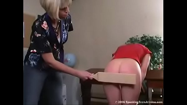 Spanking Teen Jessica - Paddled for Ditching