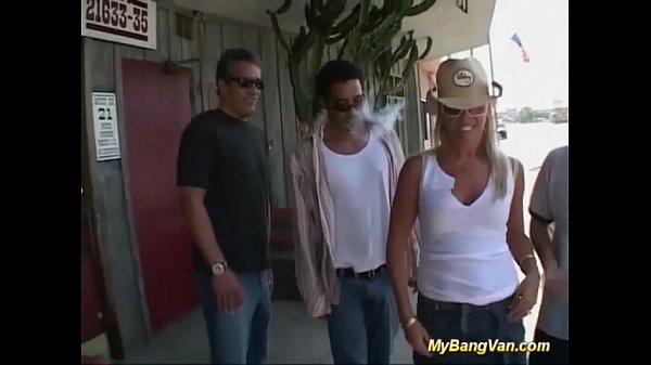 Milf picked up for gangbang Thumb