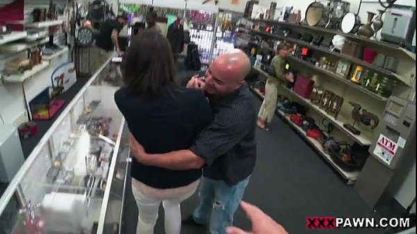 Customer's Wife Wants The D!