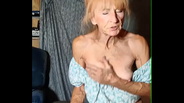 Granny Rides Young Neighbor Till He Fills Her Up Thumb