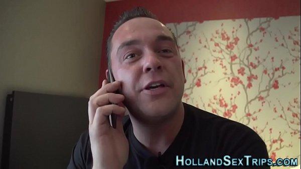 Dutch whore fucks tourist