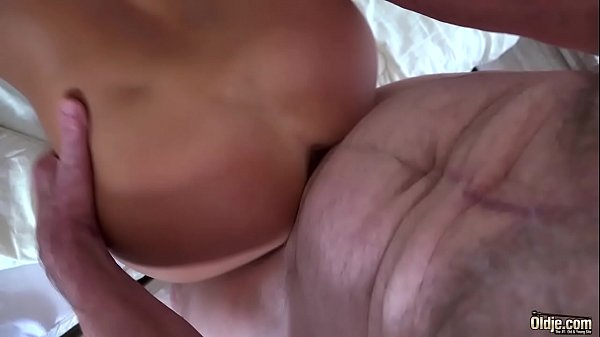Old Man Fucked Young Blonde Teen Blowjob Doggys...