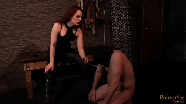 Smoking Hot Ballbusting 3 - Balls Busted by Mistress Rebekka Raynor Thumb