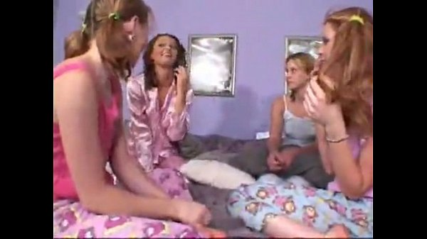 First Time Lesbian Sleepover