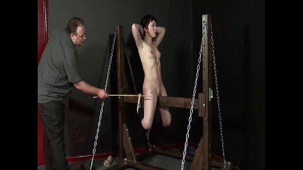 Wooden Horse Torment Of Asian Slaveslut Mei Mara