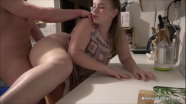 She is still horny and loves fucking in the kitchen