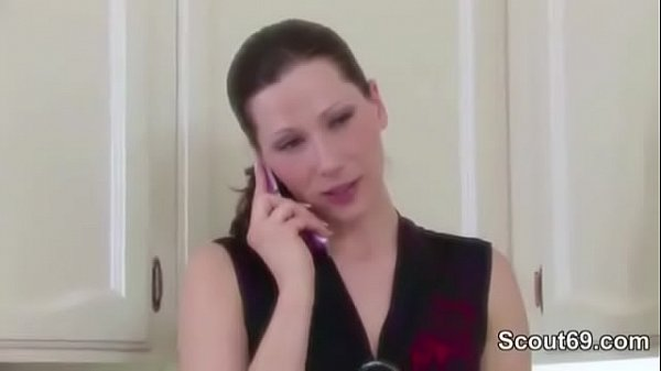 m. Seduce Young Boy to Fuck her in Kitchen