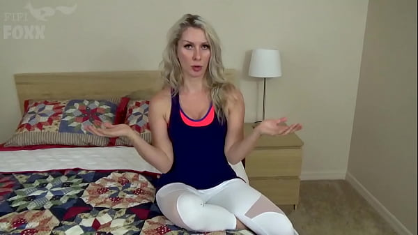 Mom's New Workout Routine: Sex Burns the Calories, POV - Mom Fucks Son, MILF, Family Sex, Blondes