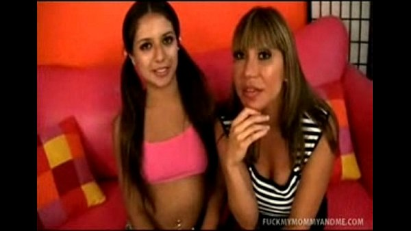 Dirty porn mom shows daughter how to move her ass