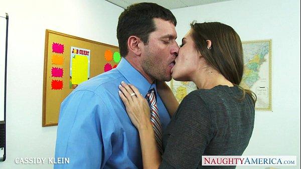 Brunette schoolgirl Cassidy Klein fuck cock Thumb