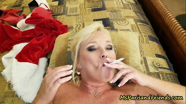 Ms Paris Rose is Santa's Smoking Hot Helper