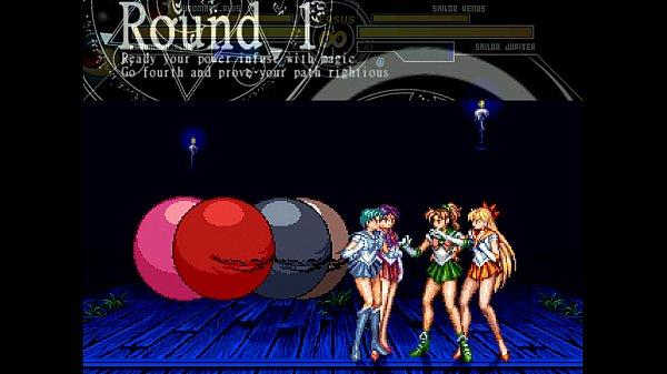 Kuromaru vs. Sailor Senshi MUGEN