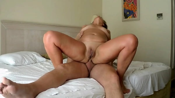 Showing off my wife