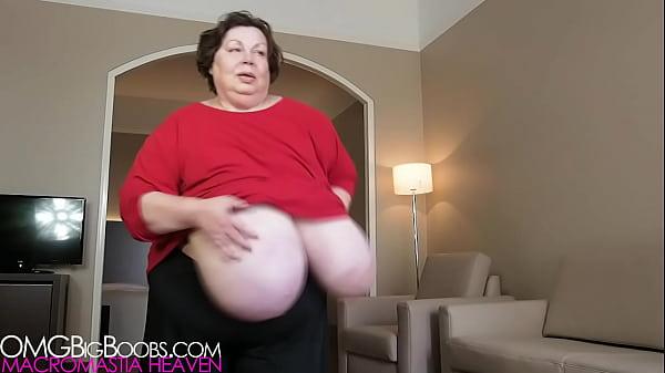 Massive granny boobs Granny Giant Boobs Voyeur Xvideos Com