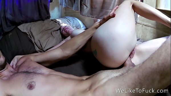 fresh clit piercing gets fucked