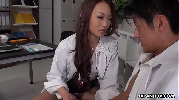 Japanese doctor, Koi Miyamura sucks dick, uncensored Thumb