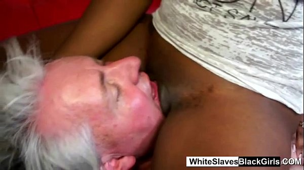 Old Guy Gets Double Femdom Face Sitting