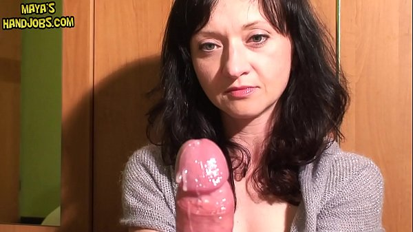 Maya femdom edging, ruined orgasm and postorgas...