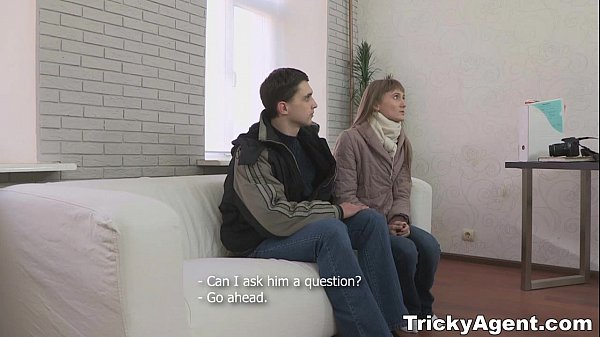 Tricky Agent - Assfucked Christie B with her bf downstairs teen-porn
