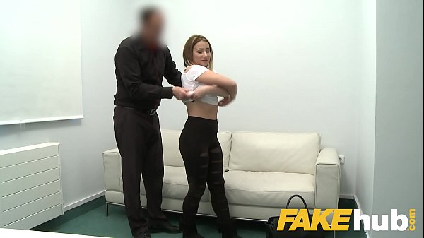 Fake Agent Amateur Model gets her first taste of casting cock Thumb