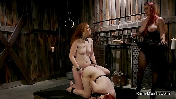Lesbian strap on fucking ans ass whipping Thumb
