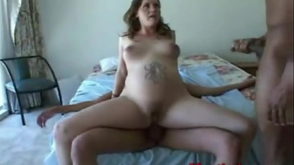 Interracial Anal Gangbang Pregnant Wife