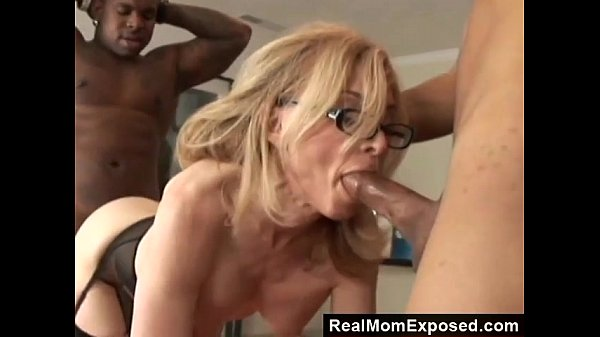 RealMomExposed - Horny Milf Gets Double Penetrated