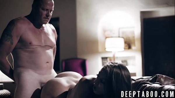 Hottie Gia Derza dicked down by naughty stepdaddy
