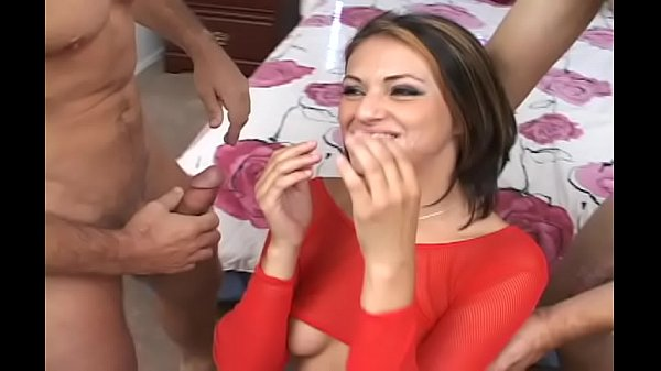Two dicks in one hole , very hard fucking Thumb
