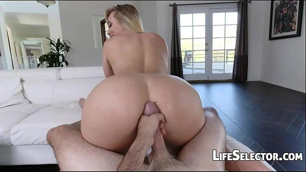 AJ Applegate - Cute blonde loves get cum on her asshole