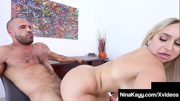 Big Butt Boss Lady Nina Kayy Ass Fucked By Big ...