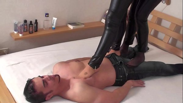 trampling ladies dominate slaves