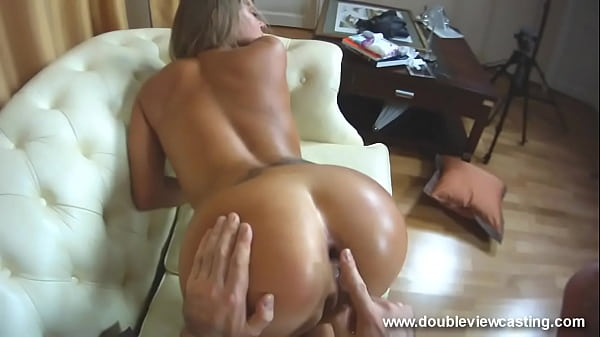 DOUBLEVIEWCASTING.COM - NESTEE SHY CLIMBS UPON COOL DONG(POV VIEW