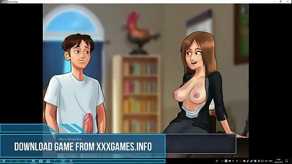 Sex game SUMMERTIME SAGA teacher fuck trailer