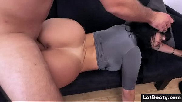 Fat ass brunette latina Valerie Kay gets fucked ,