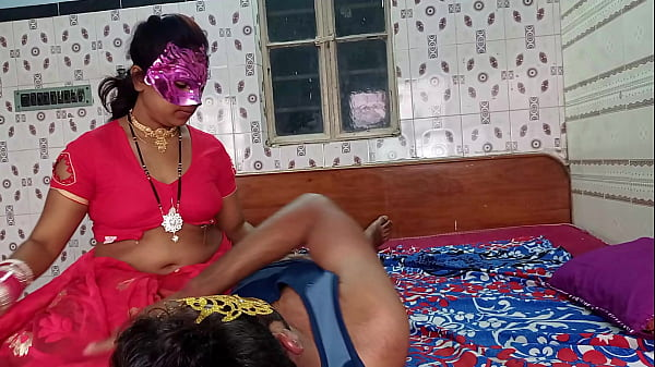 everbest horny newly married wife riding servan...